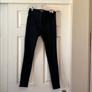 Abercrombie and Fitch plain black jeans